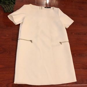 Zara White Dress   Small
